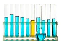 Cristalería química Imagenes de archivo