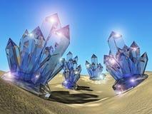 Cristales Imagenes de archivo