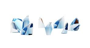 cristales stock de ilustración