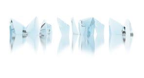 cristales Imagen de archivo libre de regalías