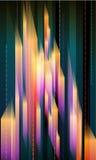 Cristales abstractos Foto de archivo libre de regalías