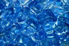 Cristales azules Imágenes de archivo libres de regalías