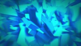 Cristales azules animados 4K libre illustration