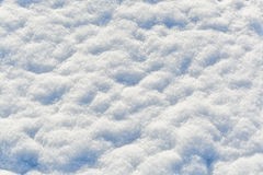 Cristales blancos de los copos de nieve Imagen de archivo libre de regalías