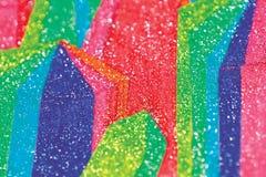 Cristales brillantes abstractos ilustración del vector