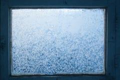 Cristales de hielo fotos de archivo