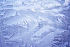 Cristales de hielo Fotos de archivo libres de regalías