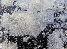 Cristales de hielo Foto de archivo