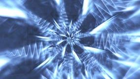 Cristales de hielo abstractos stock de ilustración