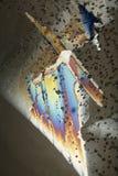 Cristales de hielo coloreados Fotografía de archivo
