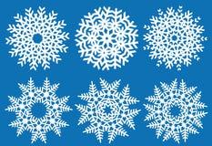 Cristales de la Navidad ilustración del vector