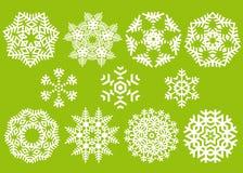 Cristales de la Navidad