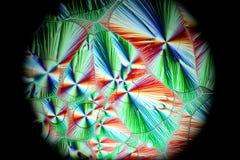 Cristales de la vitamina C fotografía de archivo libre de regalías
