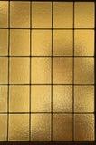 Cristales de ventana ambarinos - vertical Imágenes de archivo libres de regalías