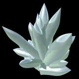Cristales decorativos stock de ilustración