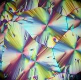 Cristales del ácido ascórbico, vitamina C imagenes de archivo
