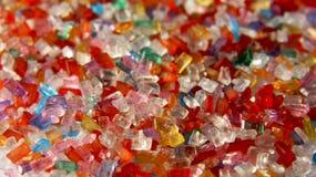 Cristales del azúcar Fotos de archivo libres de regalías