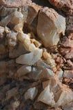 Cristales del cuarzo Fotografía de archivo libre de regalías