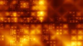 Cristales del oro del vuelo ilustración del vector