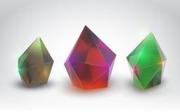 Cristales hermosos Imagenes de archivo