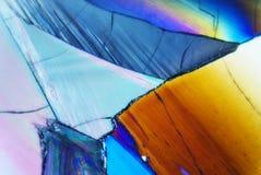 Cristales micro Fotos de archivo