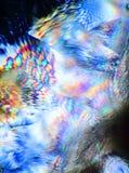 Cristales microscópicos Fotos de archivo libres de regalías