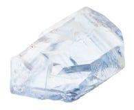 Cristales naturales del celestine aislados Fotos de archivo libres de regalías