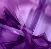 Cristales púrpuras de la prisma Fotos de archivo