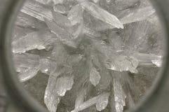 Cristales químicos  Imágenes de archivo libres de regalías