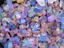 Cristalli Fotografie Stock