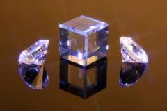 Cristalli 5 del taglio di magia Fotografia Stock