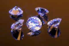 Cristalli 5 del taglio di magia Fotografie Stock Libere da Diritti