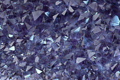 Cristalli Amethyst Fotografia Stock
