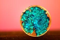 Cristalli blu Fotografie Stock Libere da Diritti