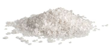 Cristalli del sale marino Immagine Stock