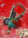 Cristalli del solfato di rame Immagini Stock Libere da Diritti