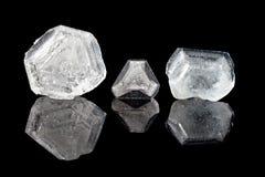 Cristalli dell'allume Fotografie Stock Libere da Diritti