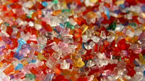 Cristalli dello zucchero Fotografie Stock Libere da Diritti