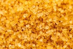 Cristalli dello zucchero dalla canna da zucchero fotografie stock libere da diritti