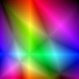 Cristalli di colore. Fotografia Stock Libera da Diritti