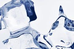 Cristalli di ghiaccio. Immagini Stock