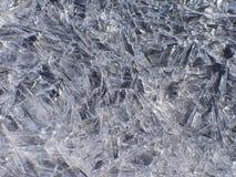 Cristalli di ghiaccio Fotografia Stock Libera da Diritti