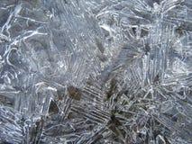 Cristalli di ghiaccio Immagine Stock