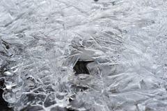 Cristalli di ghiaccio Immagini Stock Libere da Diritti