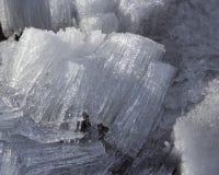 Cristalli di ghiaccio Fotografie Stock Libere da Diritti