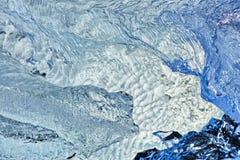 Cristalli di ghiaccio, Islanda Fotografia Stock Libera da Diritti