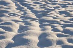 Cristalli di neve e fiocchi di neve come fondo di inverno Immagine Stock Libera da Diritti