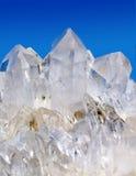 Cristalli di quarzo Immagini Stock
