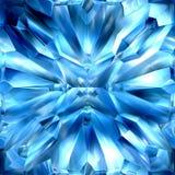 Cristalli ghiacciati Fotografia Stock Libera da Diritti