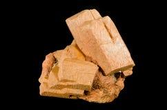 Cristalli piacevoli del feldspato di microcline Immagini Stock
